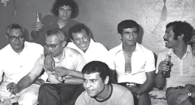 Le MCO des années 70 avec Benbrahim, Smiri, Maghfour, Belhachmi, Belhiouane et Laâmmari.