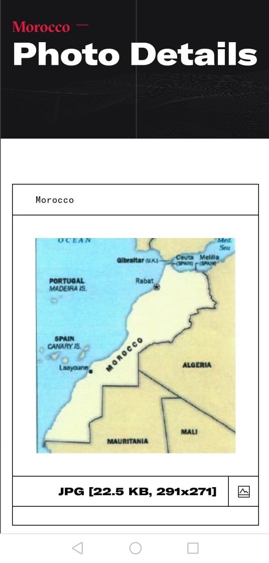 CIA adopts entire map of Morocco