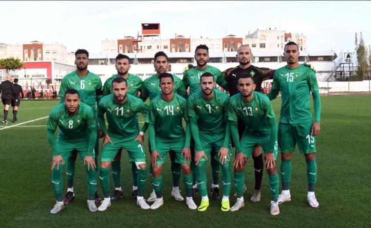 Amical/Maroc-Guinée (2-1):  Un test pour choisir des remplaçants, les titulaires n'étaient pas sur la pelouse !