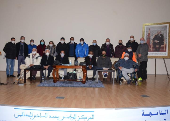 Fédération Royale Marocaine des Sports pour Personnes en Situation de Handicap : Création des Ligues régionales Rabat-Salé et Tanger-Tétouan-Hoceima