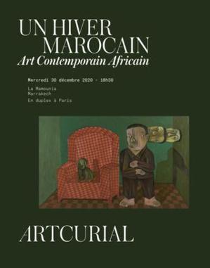 """Artcurial Maroc : Les ventes d'""""Un Hiver marocain"""" totalisent 34 MDH / 3,17 M€ frais inclus"""