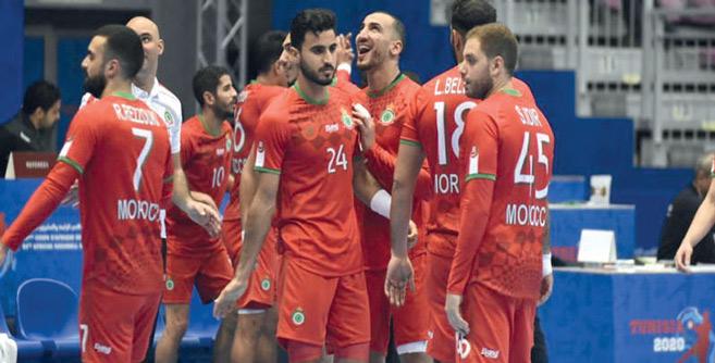 Handball : Ce jeudi, le Maroc face à l'Algérie (18h00) pour une place au tour suivant !