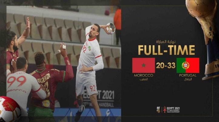 Mondial de handball / Maroc-Portugal (20-33) :  Le Sept national rebattu en deuxième mi-temps !