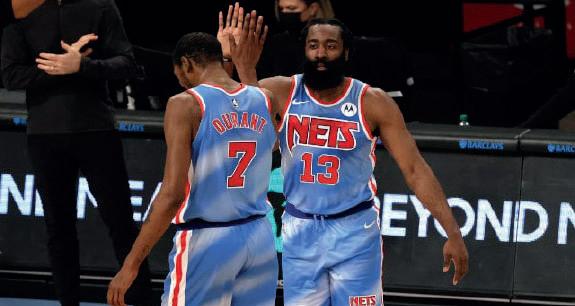 NBA : Débuts réussis et victorieux pour Harden avec les Nets