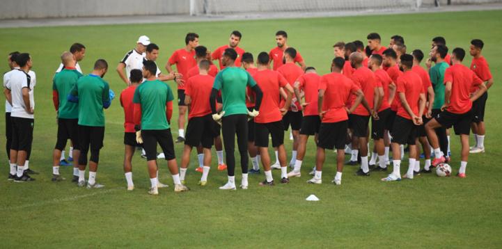 Dernière séance d'entrainement avant le match contre Ouganda.