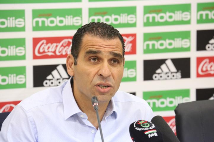 Le président de la Fédération algérienne de football, M. Kheireddine Zetchi.