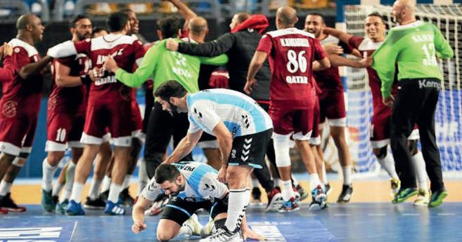 Mondial de hand : Le Qatar brise le rêve de l'Argentine et passe en quarts