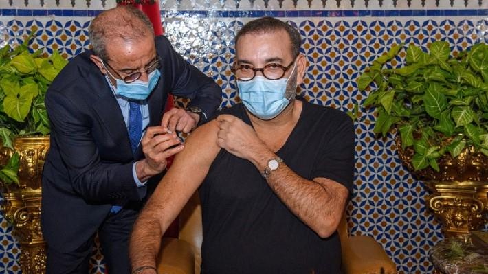 Le Souverain a reçu la première dose du vaccin anti-Covid