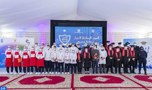 Une cérémonie en l'honneur des pensionnaires de la prison de Casablanca
