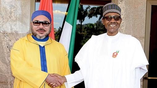 SM le Roi s'entretient avec le Président nigérien Muhammadu Buhari