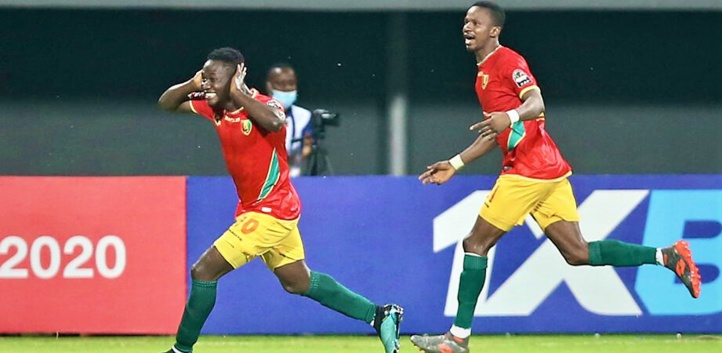 CHAN  2020 : La Guinée élimine le Rwanda (1-0) et retrouve le Mali en demi-finale