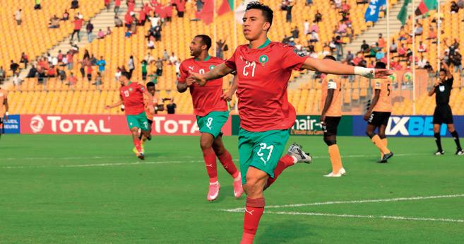 CHAN : Les Lions de l'Atlas en demi-finale face au Cameroun