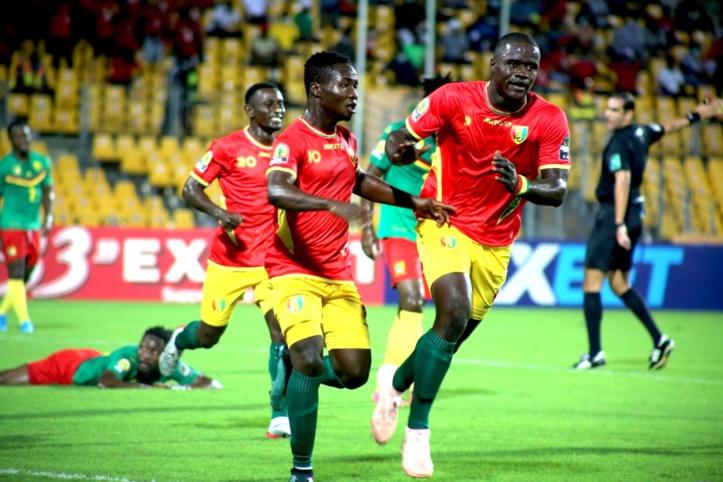 CHAN / Match de classement :  Les Guinéens sur le podium devant des Camerounais ailleurs (2-0) !