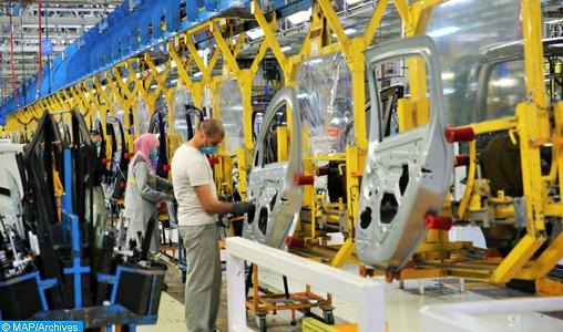 Pénurie de composants électroniques : Renault ajuste sa production à l'usine de Tanger