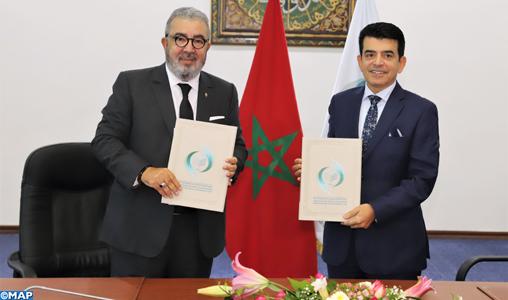 Signature d'un accord de partenariat entre la MAP et l'ICESCO