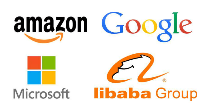 Infrastructures cloud : Amazon, Microsoft, Google et Alibaba dominent le marché