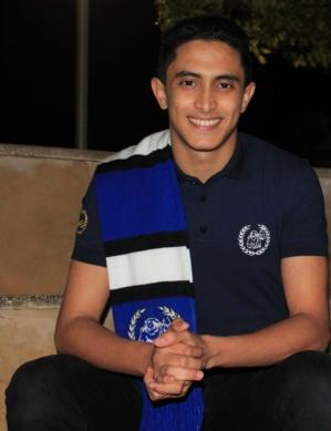 Salah Eddine El Fouhiri, Président du Bureau des étudiants de l'Institut National des Postes et Télécommunications