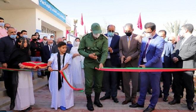 Inauguration à Laâyoune d'un centre d'appui à l'éveil chez les enfants et jeunes