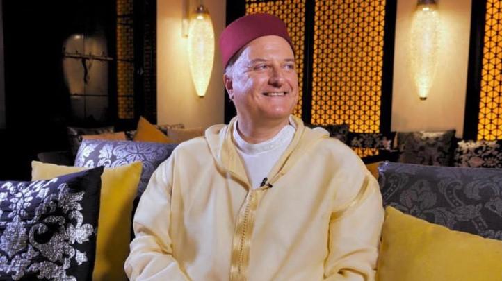 David Govrin, fier de porter la Djellaba marocaine