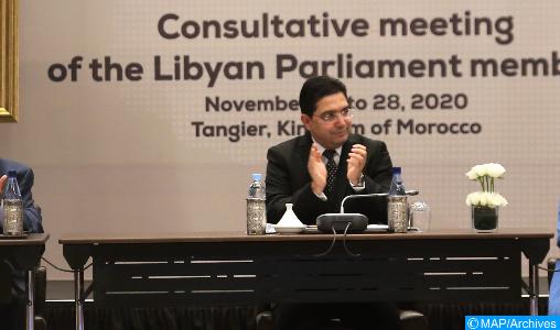 Bourita s'entretient avec l'envoyé spécial du SG de l'ONU pour la Libye