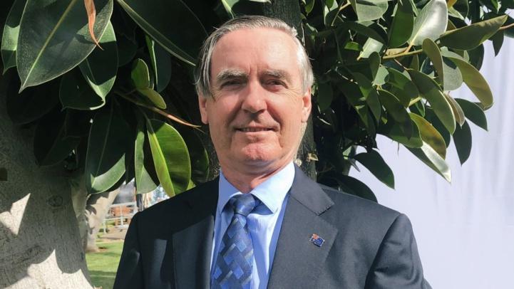 Michael Cutts, Ambassadeur d'Australie au Maroc