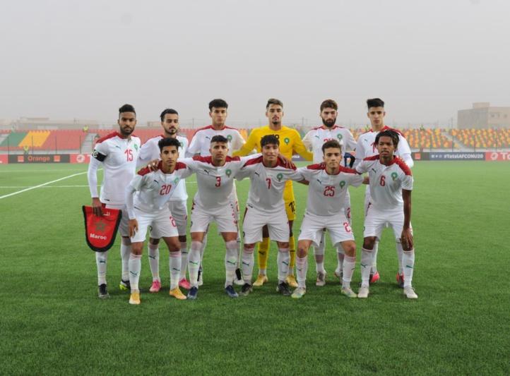 CHAN U20 / Maroc-Gambie (1-0) : 3 points dans un match difficile !