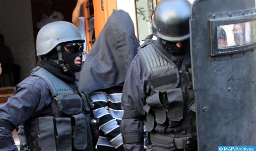 Depuis 2002, le Maroc a démantelé un total de 209 cellules terroristes