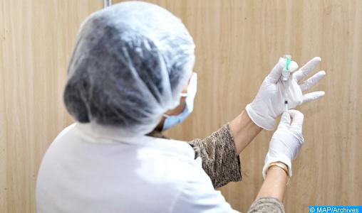 Compteur coronavirus : 448 cas testés positifs et 2.357.283 de personnes vaccinées