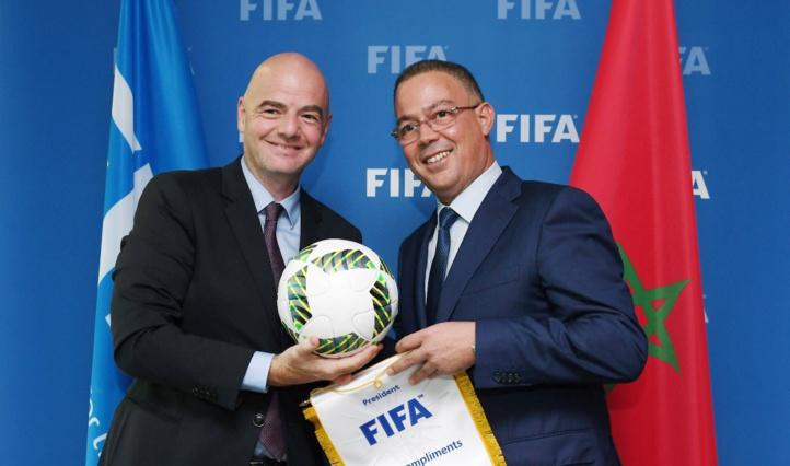 FIFA: Infantino effectuera une visite au Maroc !