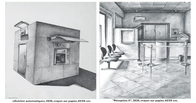 Exposition : L'ample néant de Mohamed Saïd Chair