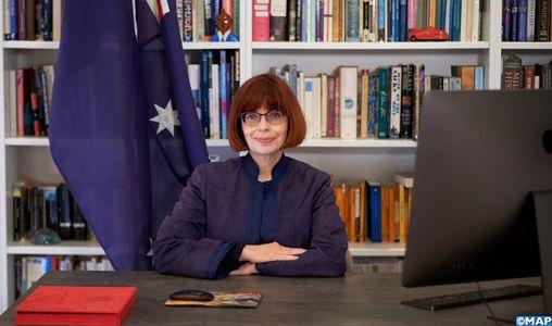 L'ex-ambassadeur d'Australie au Maroc décorée du Wissam Alaouite de l'ordre de commandeur