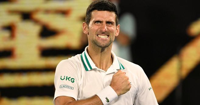 Tennis : La neuvième symphonie australienne de Djokovic
