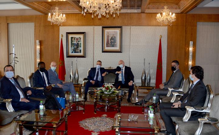 Football : Arrivée du président de la FIFA au Maroc