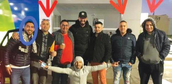 Cette image représente les quatre victimes signalées par des flèches rouges et la cinquième victime qui est toujours dans la réanimation par un rond bleu. Cette photo a été prise après une victoire du CODM. Ph. Laglag
