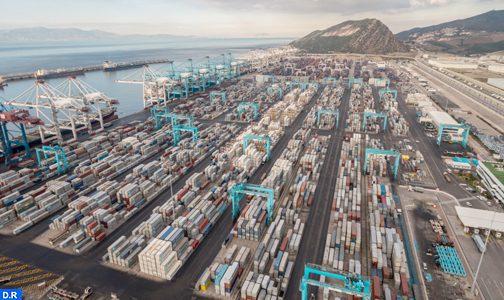 Tanger Med : Chiffre d'affaires consolidé de 2,42 MMDH du pôle portuaire en 2020