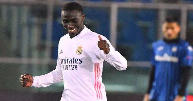 Ligue des champions : Le Real Madrid arrache la victoire à Bergame grâce à Mendy
