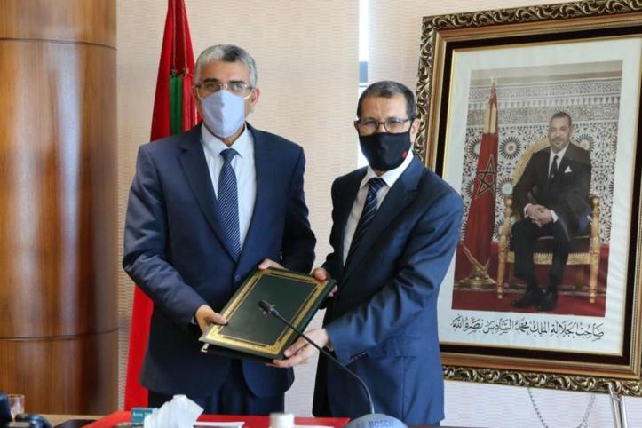 El Othmani rend visite à Ramid après une opération chirurgicale réussie