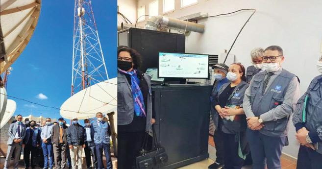 Diffusion radio-télévision : Le CSCA se rend aux sites régionaux à Dakhla