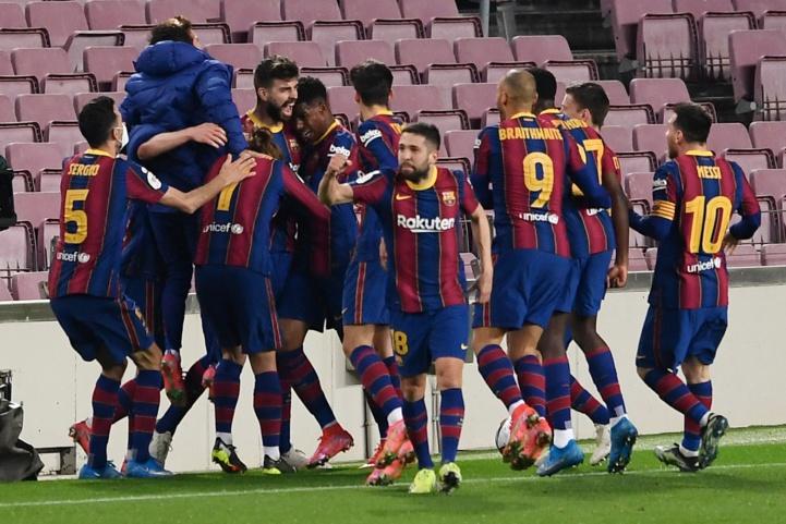Football espagnol-Coupe du Roi : Barcelone renverse Séville (3-0) !