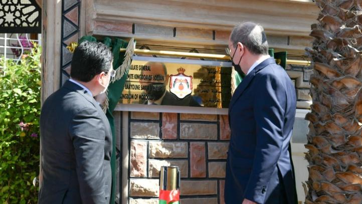 La Jordanie ouvre son Consulat général à Laâyoune (images)