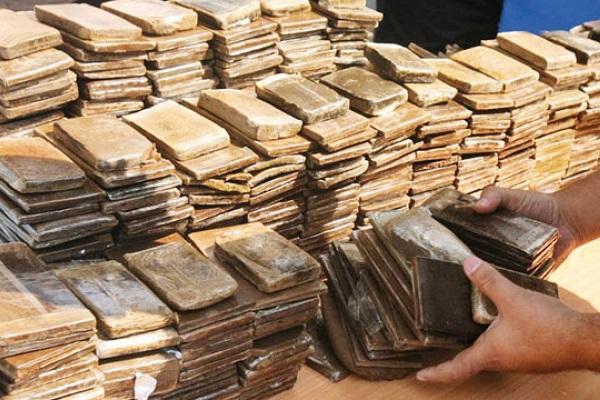 Mise en échec d'une grosse opération de trafic international de drogue à Mehdia