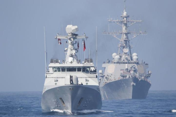 Les États-Unis et le Maroc effectuent des manœuvres navales dans la côte sud du Royaume