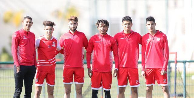 Football : Les internationaux U20 du FUS promus à l'équipe première