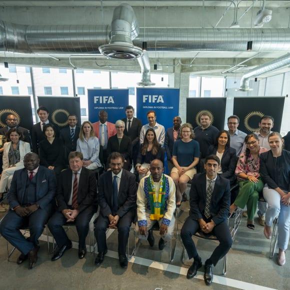 FIFA: Sortie de la première promotion des lauréats du Diplôme en droit du football