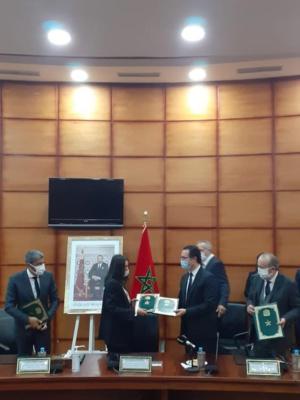 Promotion du tourisme par le cinéma : une convention signée entre le CCM et l'ONMT