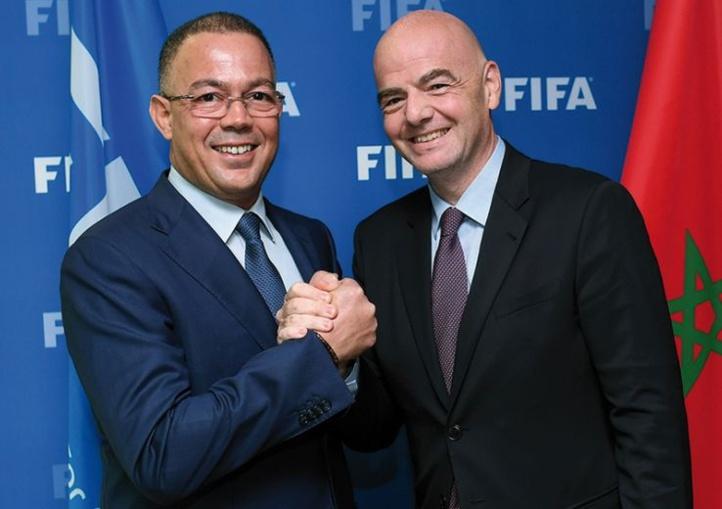 Lekjaâ intègre la FIFA après le forfait du président de Fédération algérienne, Kheireddine Zetchi