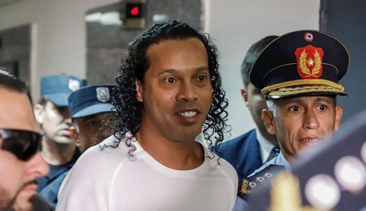 Ronaldinho, alcoolique !