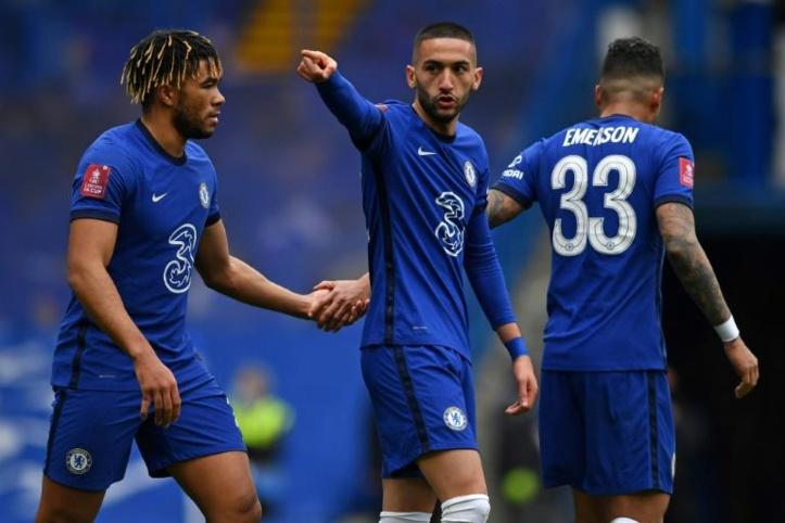 La FA Cup : Ziyech buteur face à Sheffield
