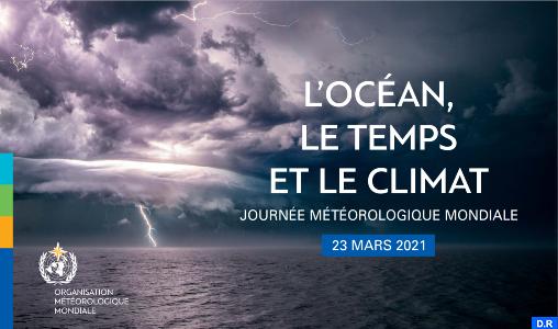 """La Journée Mondiale de la Météorologie-2021 sous le signe: """"l'Océan, le Temps et le Climat"""""""