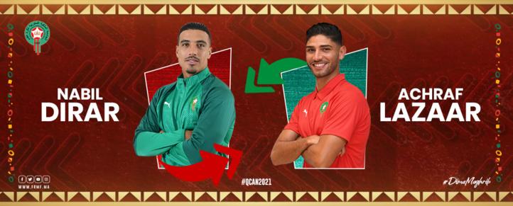 Equipe nationale : Achraf Lazaâr pour remplacer Nabil Dirar, seul absent du groupe